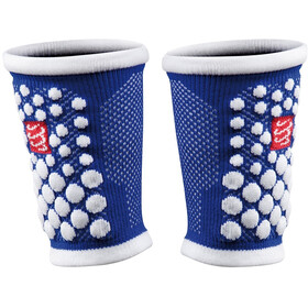 Compressport 3D Dots Sweatbands blue-white
